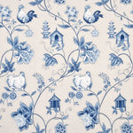 Baker Lifestyle Bantam Toile Blue Fabric
