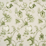 Baker Lifestyle Bantam Toile Green Fabric