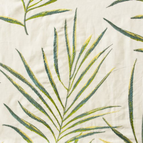 Stout Foliage Seaglass Fabric - Fabric