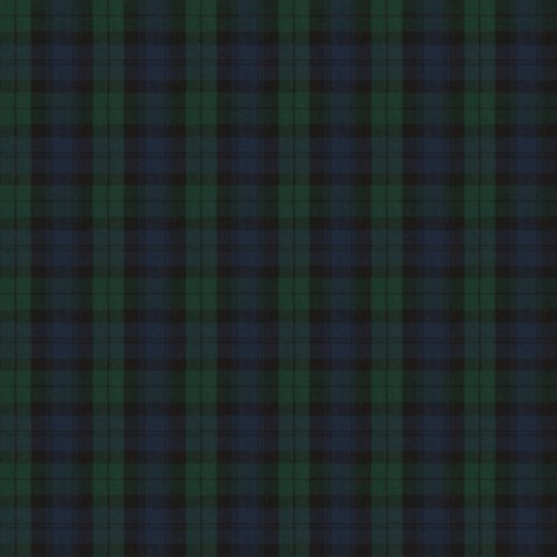 Fabricut Scot Plaid Blackwatch Fabric - Fabric