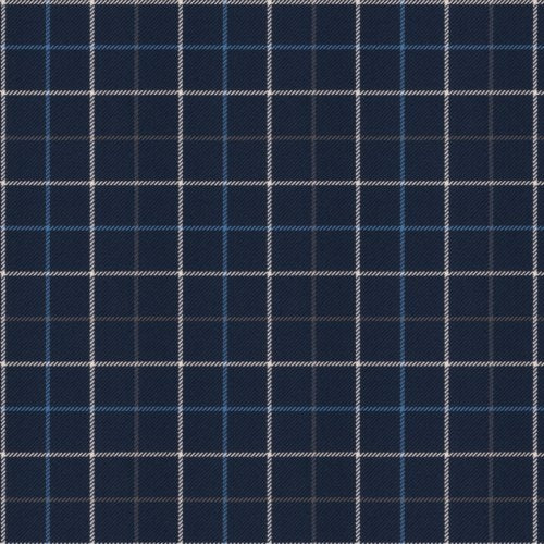 Fabricut Steed Navy Fabric - Fabric