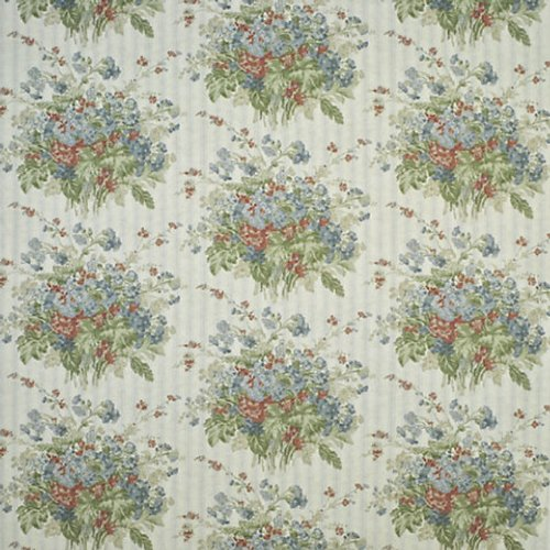 Ralph Lauren Meeting House Floral Slate Fabric - Fabric