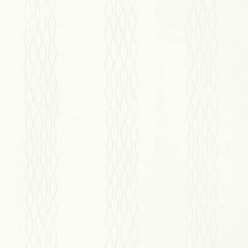 Schumacher Bella Embroidery Ivory Fabric - Fabric