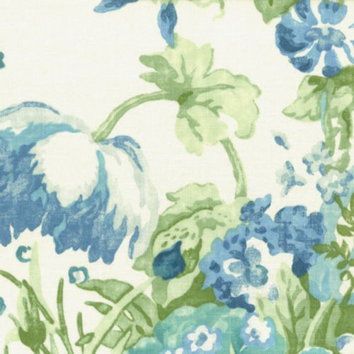 Stout Governess Bluebird Fabric - Fabric