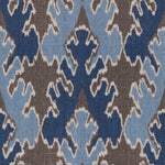 Groundworks Bengal Bazaar Grey/Indigo Fabric