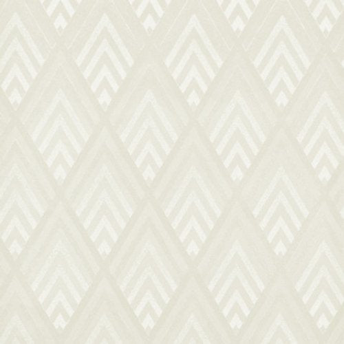 Ralph Lauren Jazz Age Geometric Cream Wallpaper - Wallpaper