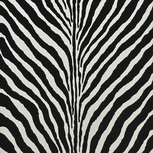 Ralph Lauren Bartlett Zebra Charcoal Wallpaper - Wallpaper