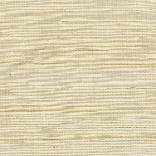 Scalamandre Textured Sisal White Sand Wallpaper - Wallpaper
