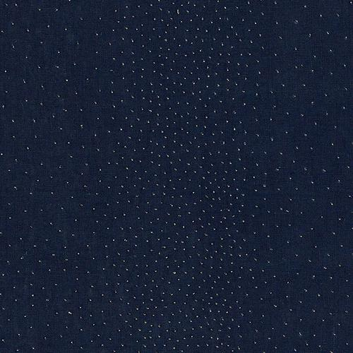Schumacher Northern Lights Midnight Fabric - Fabric