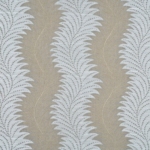 Threads Continuous Linen Champagne Fabric - Fabric