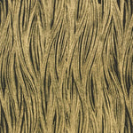 Groundworks Currents Paper Ebony/Gold Wallpaper