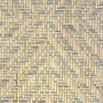 Phillip Jeffries Diamond Weave Mississippi Blue Wallpaper