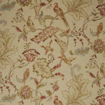 Mulberry Early Birds Natural Fabric