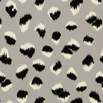 Groundworks Feline Paper Grey/Black Wallpaper