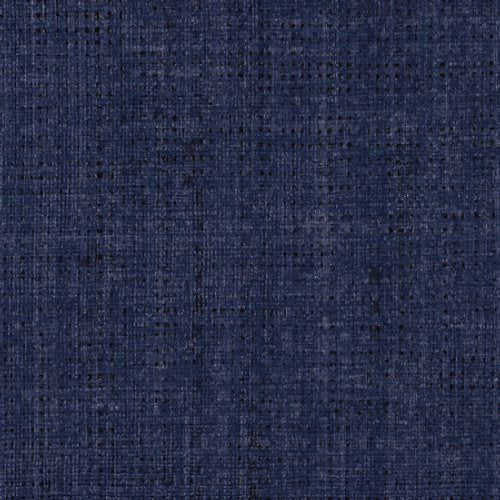 Phillip Jeffries Vinyl Madagascar Raffia Zulu Blue Wallpaper - Wallpaper