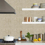 Phillip Jeffries Vinyl Madagascar Raffia Island Malta White Wallpaper