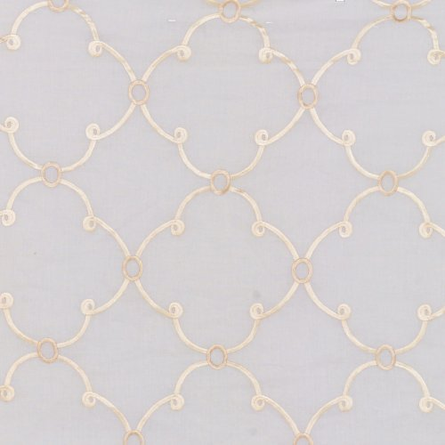 Kravet Cloe Cotton Sheer Chablis Fabric - Fabric