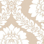 Norwall Daisy Damask Sh34517 Wallpaper
