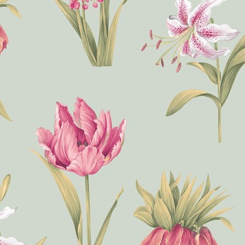 Norwall Botanical Floral Pa34233 Wallpaper - Wallpaper