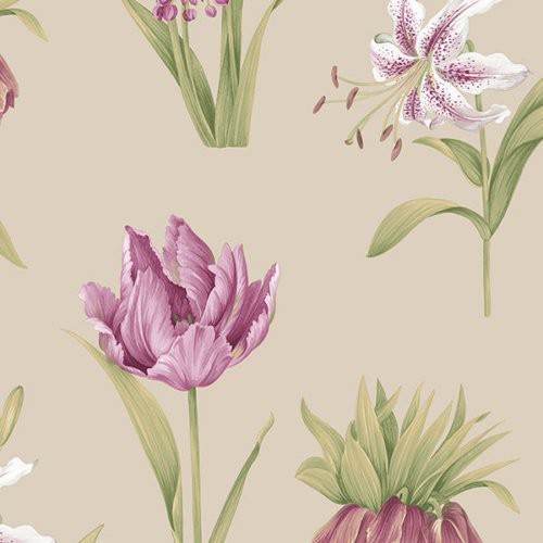 Norwall Botanical Floral Pa34237 Wallpaper - Wallpaper