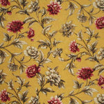 Mulberry Gilded Peony Soft Yellow/Pink Fabric