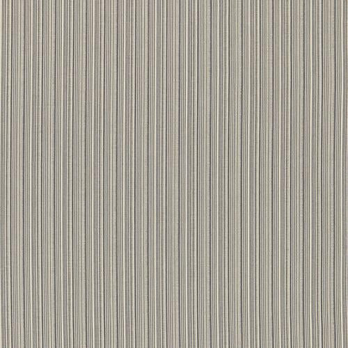 Schumacher Marbella Strie Oxford Grey Fabric - Fabric