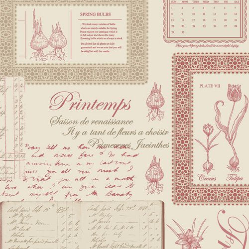 Norwall Printemps Script Fk34418 Wallpaper - Wallpaper