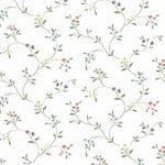 Norwall Small Floral Trail Cn24604 Wallpaper