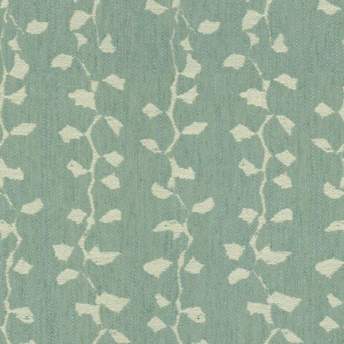 Groundworks Jungle Aqua Fabric - Fabric