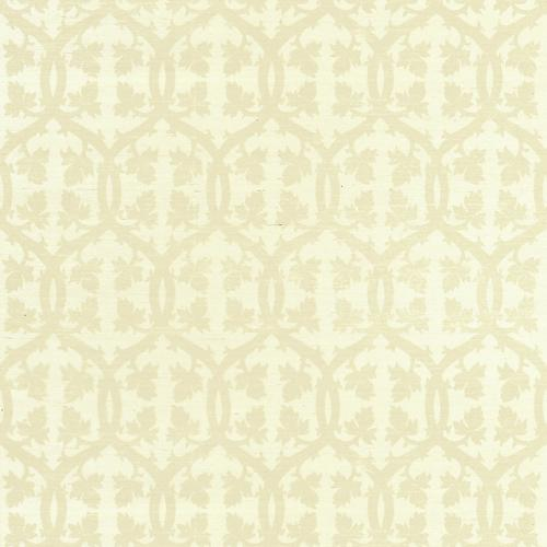 Scalamandre Falk Manor House Sisal Ecru Wallpaper - Wallpaper