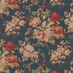 Ralph Lauren Newbury Floral Blue Fabric