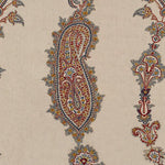 Lee Jofa Khamsa Paisley Indigo/Red Fabric