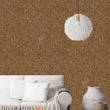Decoratorsbest Pebble Mica Caramel Latte Wallpaper