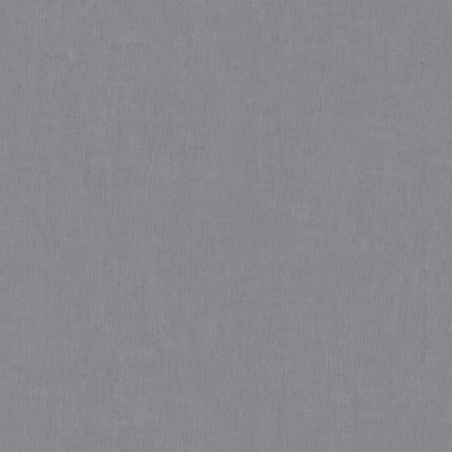 Scalamandre Gesso Plain Pewter Wallpaper - Wallpaper