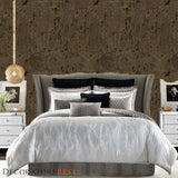 Decoratorsbest Metal Cork Copper & Brass Wallpaper