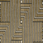 Groundworks Louvered Maze Linen Fabric