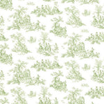 Norwall Small Toile Pp27800 Wallpaper
