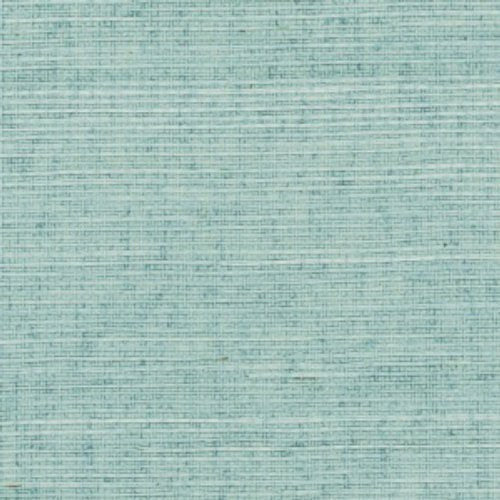 Phillip Jeffries Manila Hemp Silver Blue Wallpaper - Wallpaper