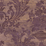 Norwall Sari Damask Cs35602 Wallpaper