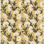 Cole & Son Poppy  Ocher Wallpaper