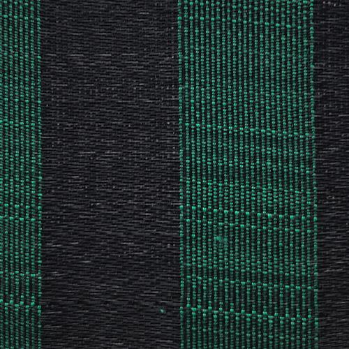 Old World Weavers Fredericksborg Horsehair Green / Black Fabric - Fabric