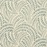 Threads Meander Sea Foam Fabric