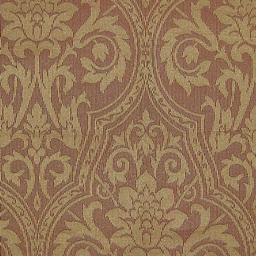 Grey Watkins Brahms Damask Gold Fabric - Fabric