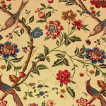 G P & J Baker Elinors Chinese Cream/Brick Fabric