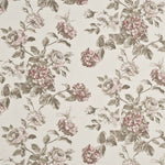 Baker Lifestyle Mottisfont Print Antique Rose Fabric