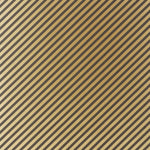 Groundworks Oblique Paper Copper/Black Wallpaper