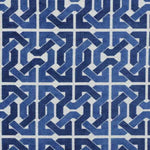 Groundworks Cliffoney Blue/White Fabric
