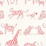 Schumacher Jungle Jubilee Punch Fabric