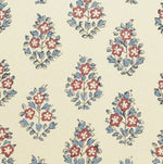 Clarence House Oui Rouge/French Blue Fabric