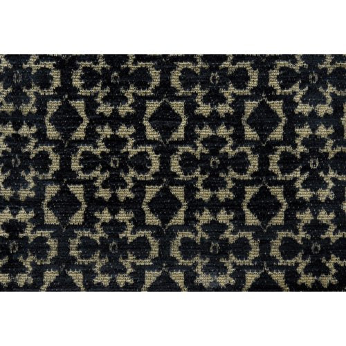 Lee Jofa Connaught Cheni Coal Fabric - Fabric
